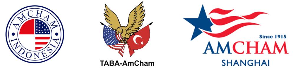 Trio AmCham Logos